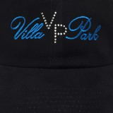 VillaPark flat embroidery with SS-8 crystal rhinestones as accents.